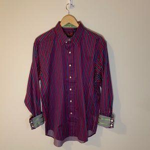 Robert Graham X Pinstripe Button Down Shirt